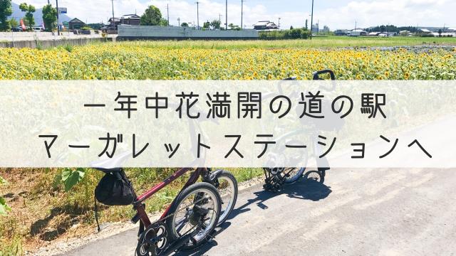 ゆるサイクリング マーガレットステーション