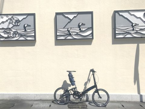 岐阜城の旅 鵜飼看板