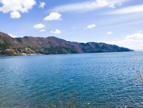 ビワ1/5の旅 琵琶湖風景