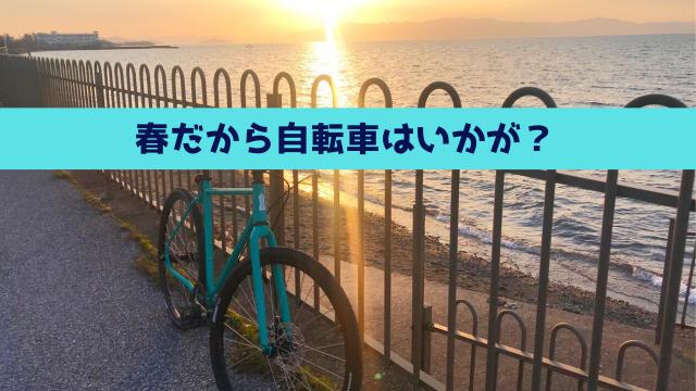 春だから自転車はいかが?