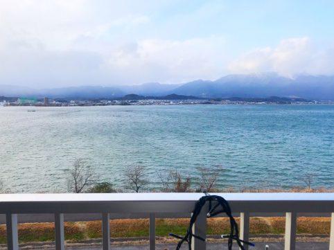 サイクリングとサウナの「Wサ活」 絶景