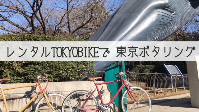 レンタルtokyobikeで東京を走る 谷中⇔浅草