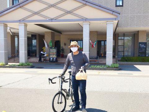 サイクリング テイクアウトランチ