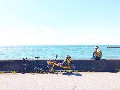 サイクリング びわ湖